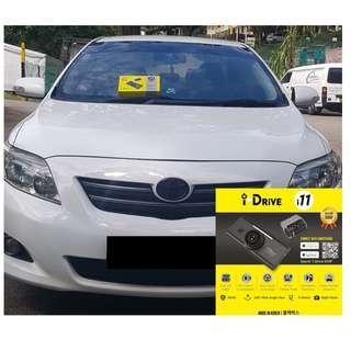iDrive i11 Car Camera/Dashcam Installed On Toyota Altis!