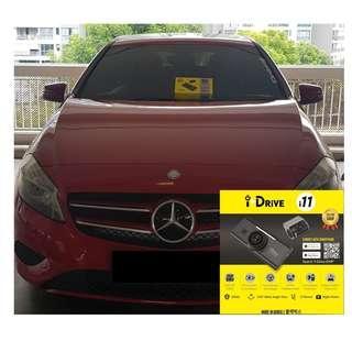 iDrive i11 Car Camera/Dashcam Installed On A180