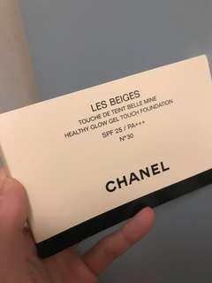Chanel 粉底試用 Les Beiges N30