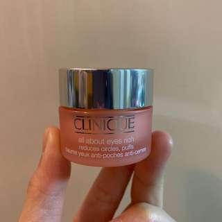 Clinique All about eyes rich 眼霜 15ml 有效期:2020 年 4 月