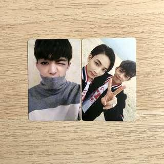 OFFICIAL SVT Seventeen Going Photocards S.coups Scoups Jeongcheol Jeonghan