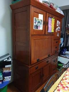 Solid Oakwood Cabinet