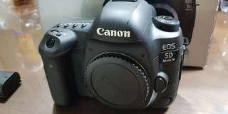 Canon EOS 5D mark 4 to let go