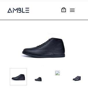 Amble sepatu kulit