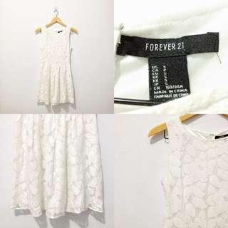 FOREVER21 LACES DRESS