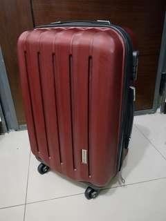 🚚 America Tiger 晶鑽紅PC+ABS 行李箱(20吋)