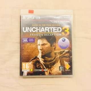 Video Games - PS3 Uncharted 3 - Drake's Deception