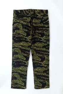 CARGO TIGER STRIPE GREEN