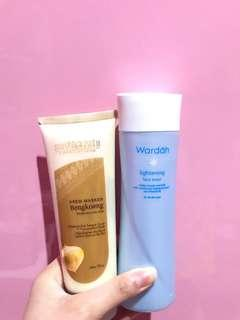 TAKE ALL (TONER WARDAH AND MASKER BENGKOANG)