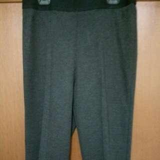 Uniglo Work Trousers In Grey