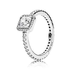 Authentic Pandora timeless elegance ring