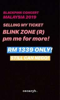 ❤️❤️BLACKPINK CONCERT TICKET