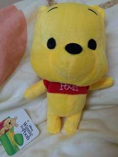 Winnie the Pooh小熊維尼 毛公仔 (Q版)
