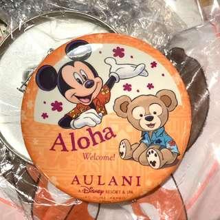 迪士尼襟章 扣針 夏威夷限定非賣品 Disney aulani resort Duffy and Mickey pin button