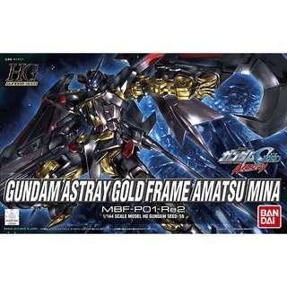 HG 1/144 Gundam Astray Gold Frame Amatsu Mina