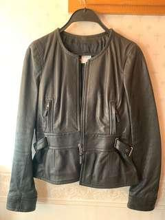 Red Valentino leather jacket size 42