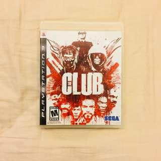 Video Games - PS3 The Club