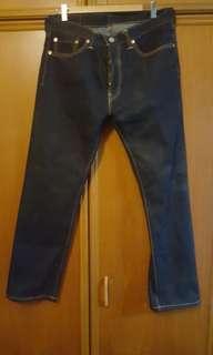Levis Jeans Dark Blue 505 - men's jeans