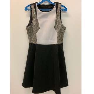 Something Borrowed Patch Dress