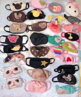 🚚 全新韓國造型口罩出清15元