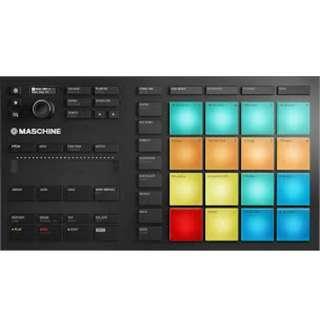 Native Instruments Maschine Mikro MK3 - USB MIDI Controller, Trigger Pad and Sampler