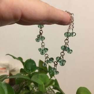 綠色水晶手鏈