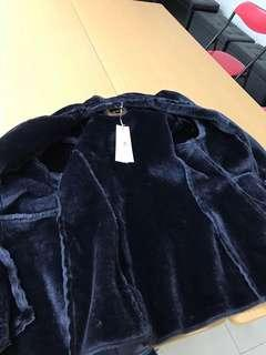jacket fake fur original price$16xx