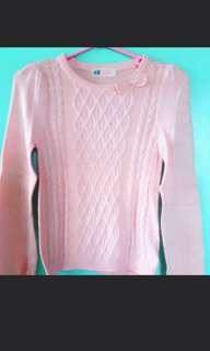 H & M (knitted sweatshirt for kids) (REPRICED)