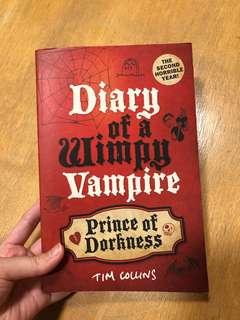 🚚 Diary of a Wimpy Vampire: Prince of Darkness by Tim Collins
