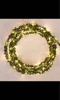 Leaf vine led fairy lights preorder