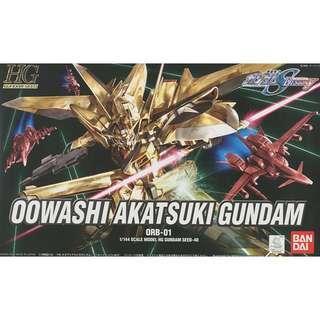 HG Owashi Akatshuki Gundam