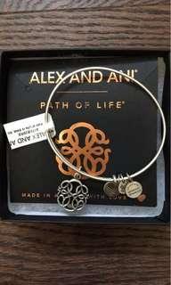 Alex & ani path of life bracelet BNWT
