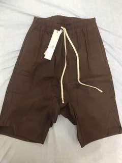 🚚 Rick Owens 主線 咖啡色 低檔褲