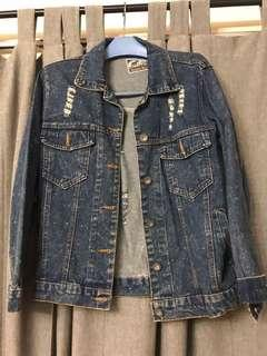 Denim Jacket from England vintage market