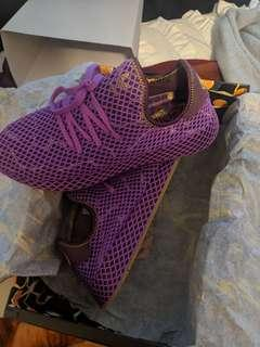 Gohans DBZxAdidas shoes size 10 DEADSTOCK