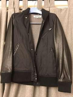 black leather jacket 3 different materials from Japan