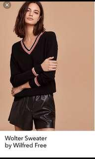 Aritzia Wilfred Wolter Sweater