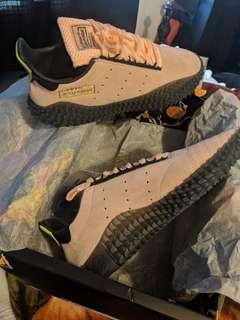 Majin Buu's DBZxAdidas shoes size 10 DEADSTOCK