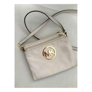 Michael Kors - Cream Cross Body Bag