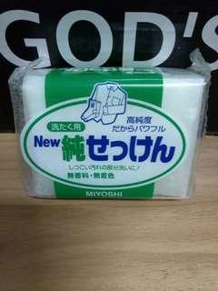 🚚 日製高濃度洗衣皂