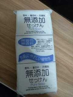 🚚 日製無添加沐浴皂125g*3/包