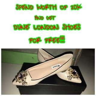 GET FREE DUNE LONDON SHOES💯✔Authentic