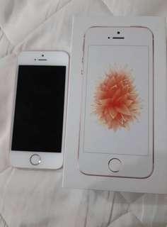 I Phone SE 16GB ( 粉 )