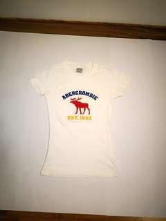 Abrecombie t-shirt (WHITE)