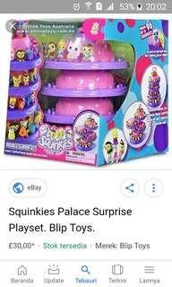 Squinkies palace playset