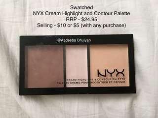 NYX Cream Contour and Highlighter