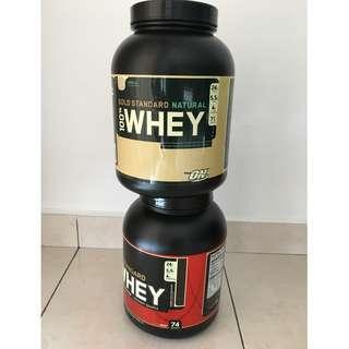 Whey Protein Tubs (Empty)