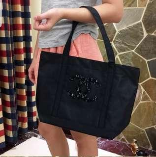 Chanel專櫃 vip 贈品 閃片 環保袋