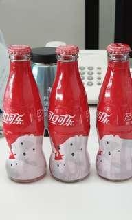 2018 China panda bear empty glass bottles