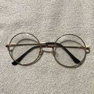 Clear Circle Glasses